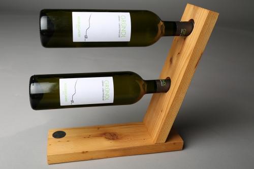 Weinständer Altholz