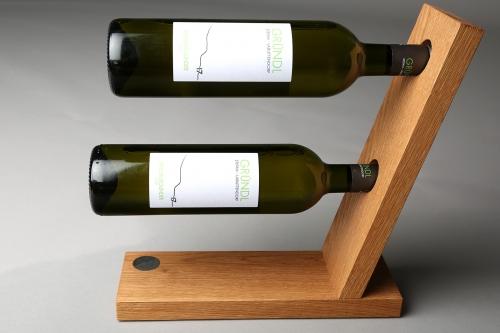 Weinständer Eiche